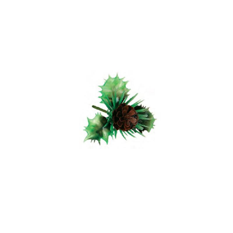 Pommes de pin plastique (x144)