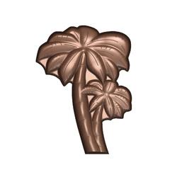 Moule chocolat palmiers