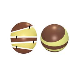 Moule chocolat sphère à étages