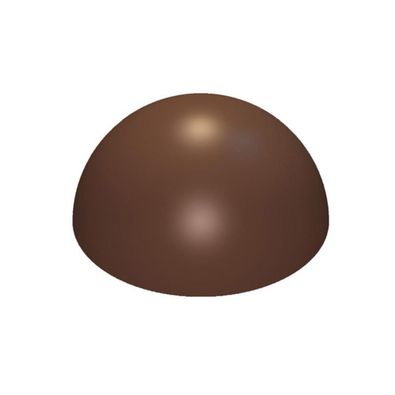 Moule chocolat polycarbonate demie sphère