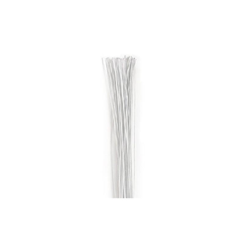 Tiges à fleurs blanches PME (x50)