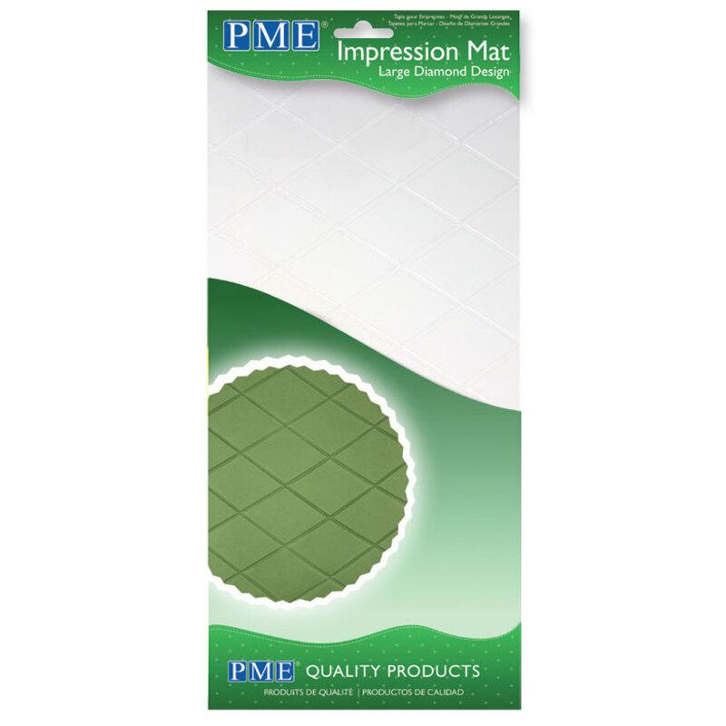 Tapis textures losanges PME 15 x 30 cm