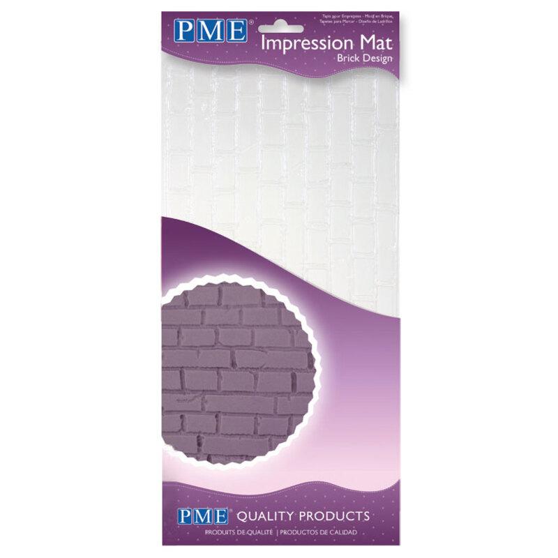 Tapis texture briques PME 15 x 30 cm