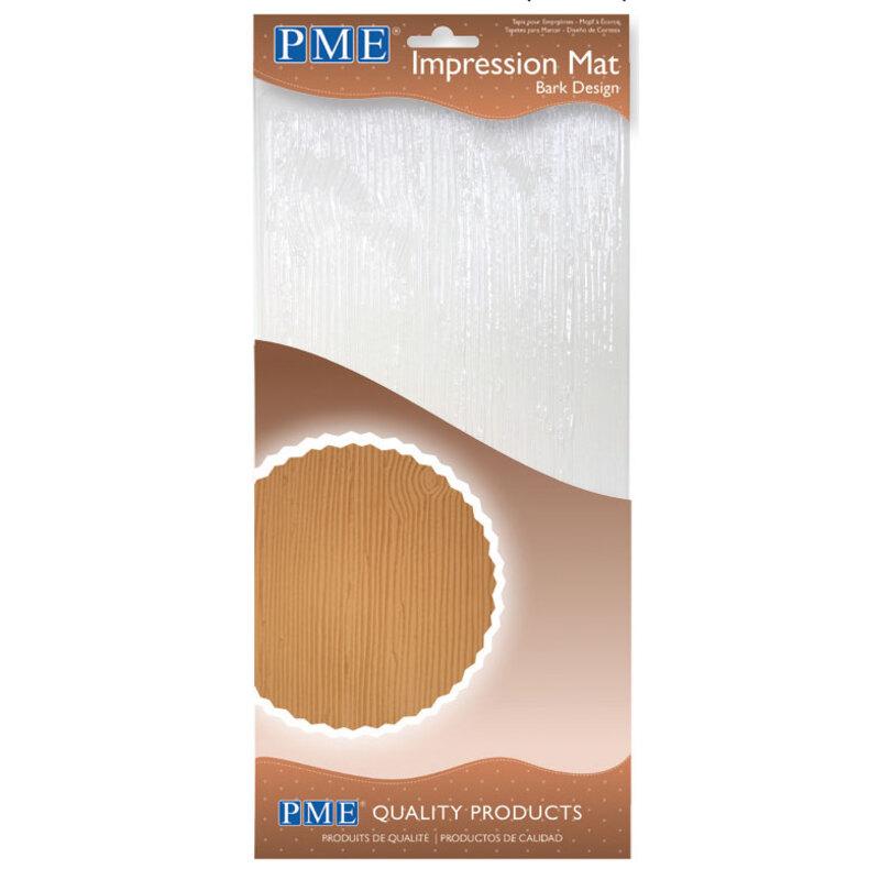 Tapis texture écorce PME 15 x 30 cm