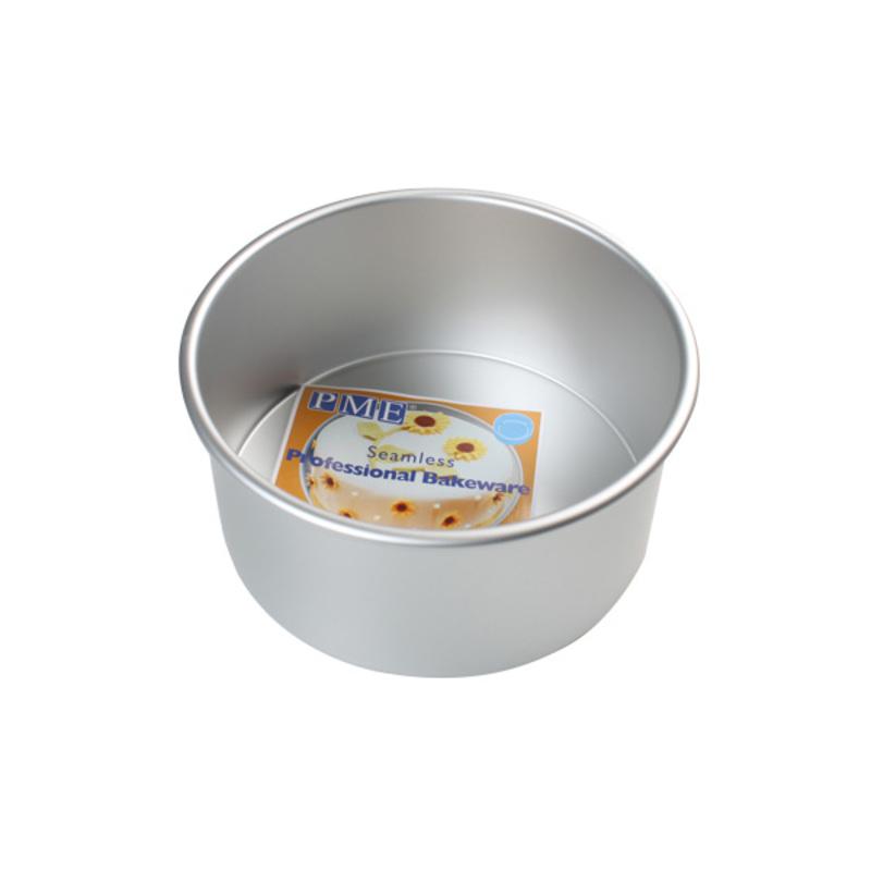 Moules alu ronds PME H 10 cm