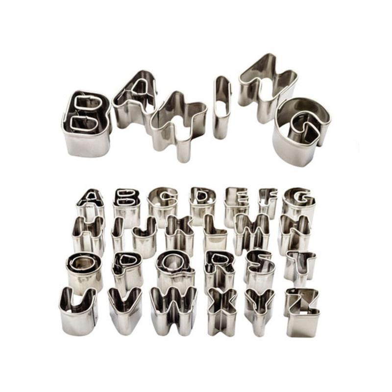 Emporte-pièce chiffres et alphabet PME