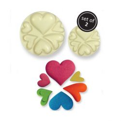 Moule silicone coeurs (x2)