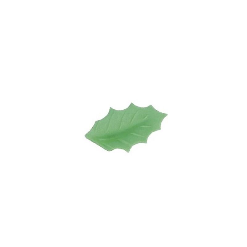 Feuille de houx vert pâle (x500)