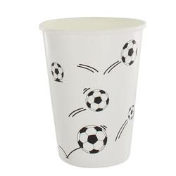 Gobelets en carton Football (x 10)