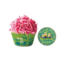 Caissette cupcake Les Minions (x 50)