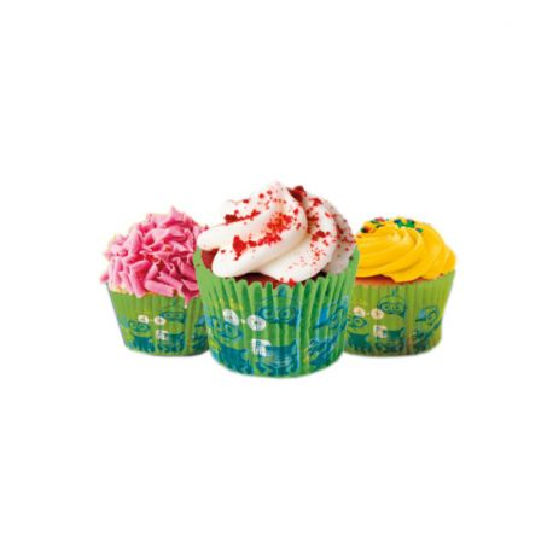 Caissette cupcake Minions (x 50)