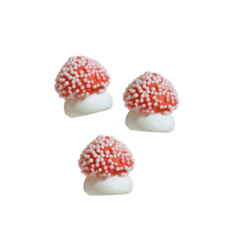 Champignon rouge en sucre 13 mm (x150)