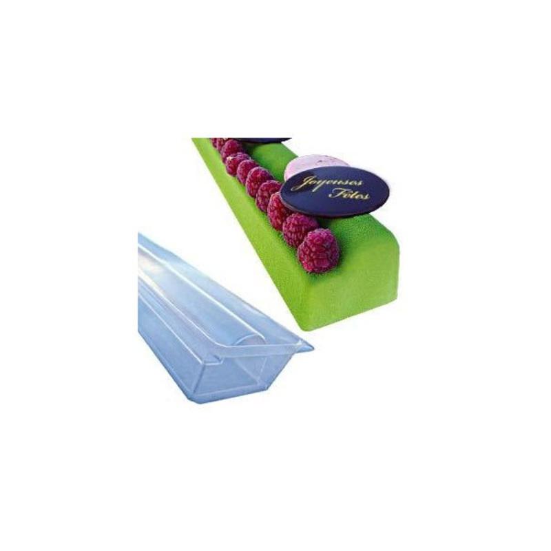 Gouttière petite bûche canapé en PVC (x12)