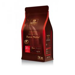 Chocolat de Couverture Force Noire 1 kg cacao Barry