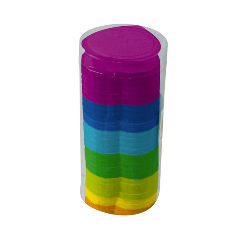 Confettis coeurs multicolores 100 g