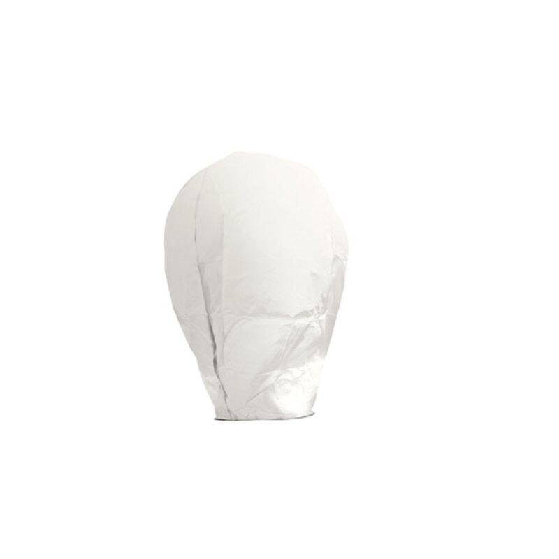 Lanterne volante en papier éco responsable blanche