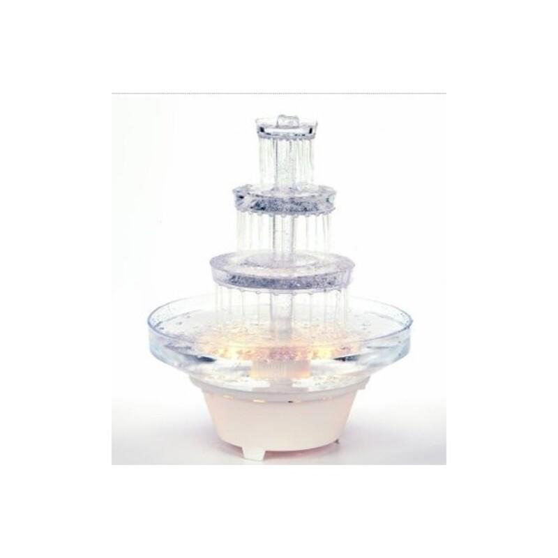Fontaine lumineuse Fantaisie