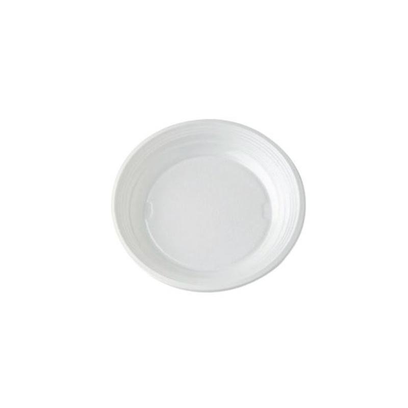Assiettes dessert plates plastique (x100)