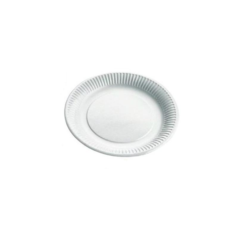 Assiettes rondes plastifiées (x50)