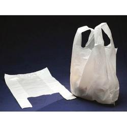 Sac plastique à bretelles blanc (x1000)