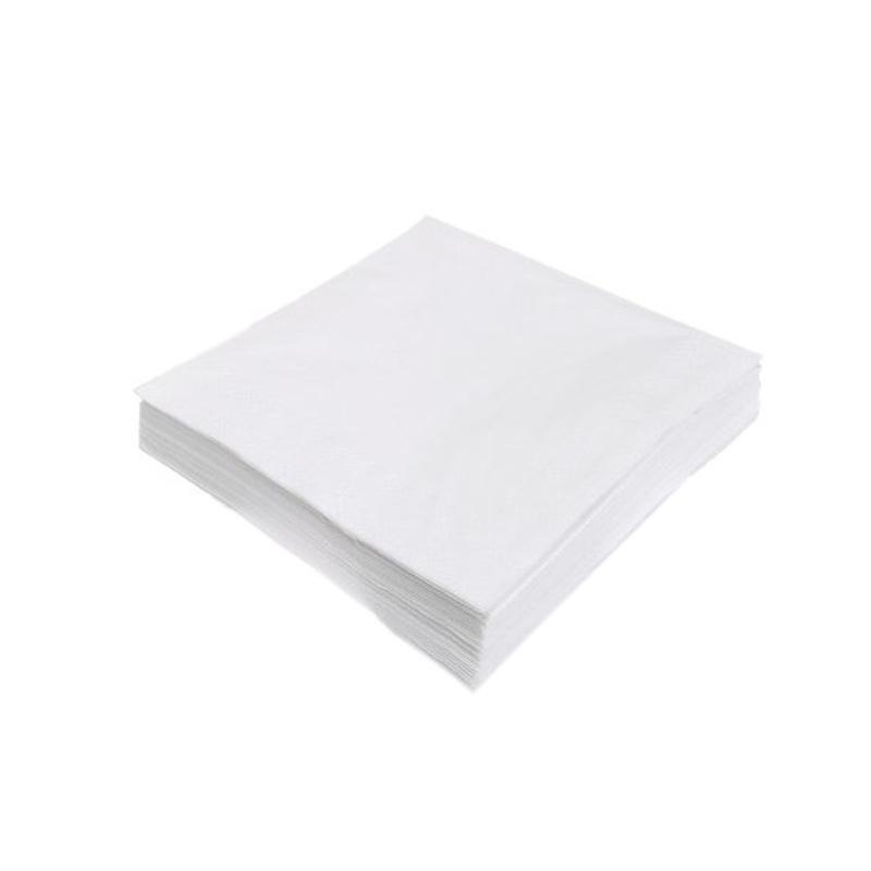 200 Serviettes en papier éco blanches
