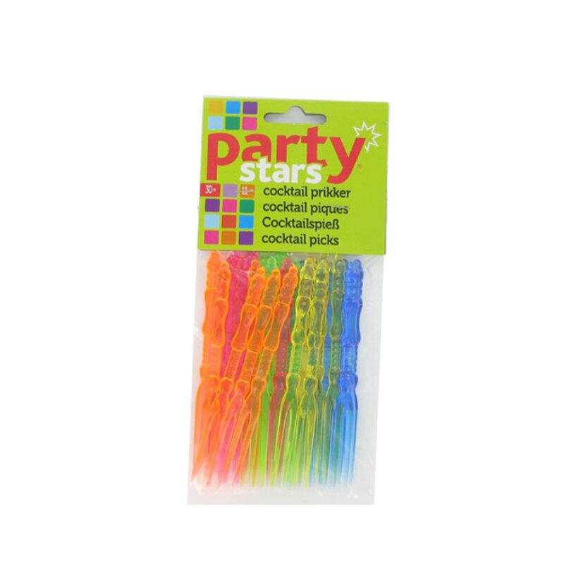 Piques à cocktail plastique (x30)