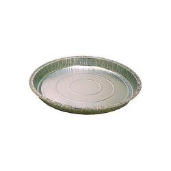 Tourtières unies jetables en aluminium (x100)