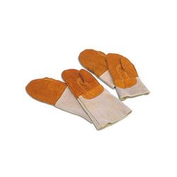 Moufles de protection thermique en cuir