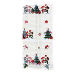 Sachets fond plat Christmas Kiss (x100)