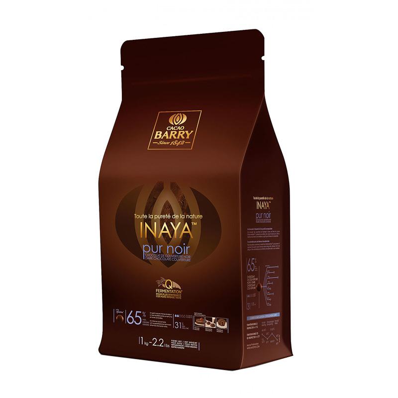 Chocolat de Couverture Noir Inaya 1 Kg