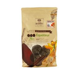 Chocolat de Couverture Noir origine Equateur 1 Kg