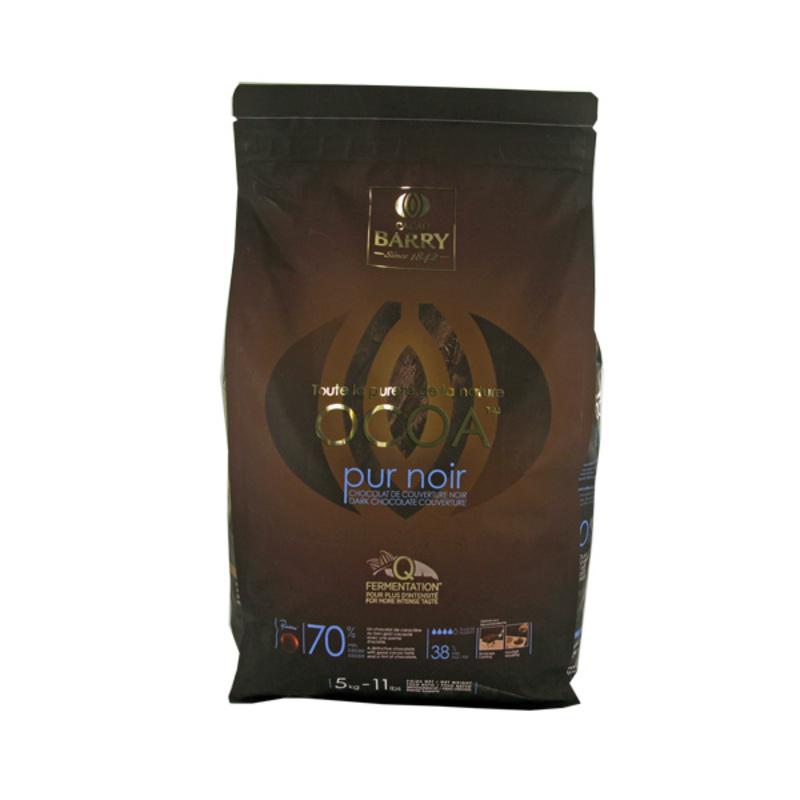 Chocolat de Couverture Noir Ocoa 5 Kg
