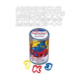Découpoirs ABC + 123 Wilton (x50)