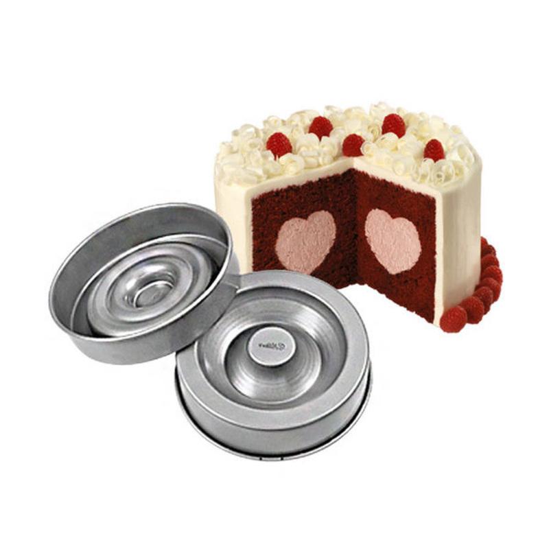 Moules à gâteau insert coeur Wilton
