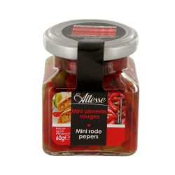 Mini piments rouges 60 g