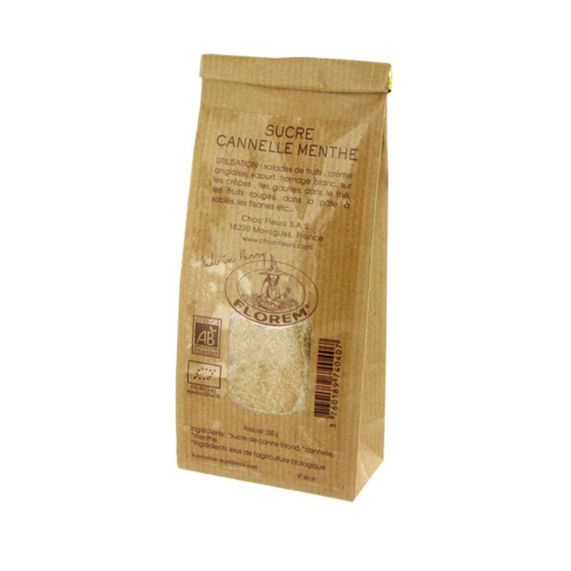Sucre cannelle menthe Bio 200 g