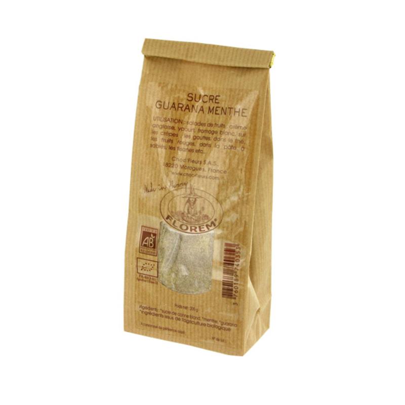 Sucre guarana menthe Bio 200 g