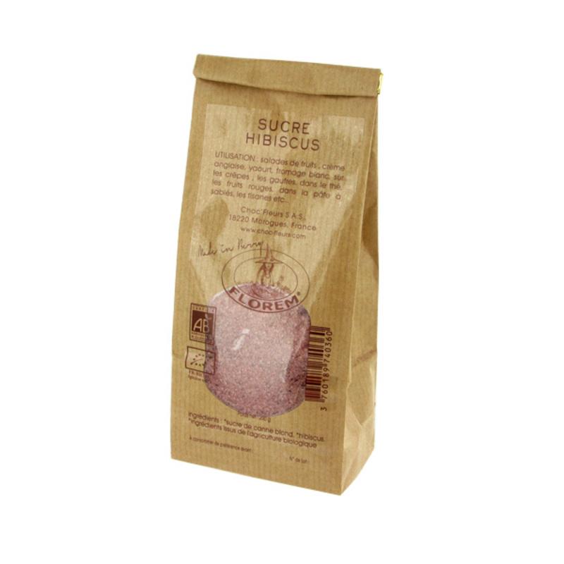 Sucre hibiscus Bio 200 g