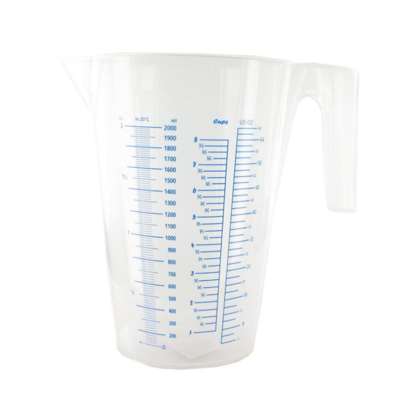Pot mesureur gradué plastique 2 L