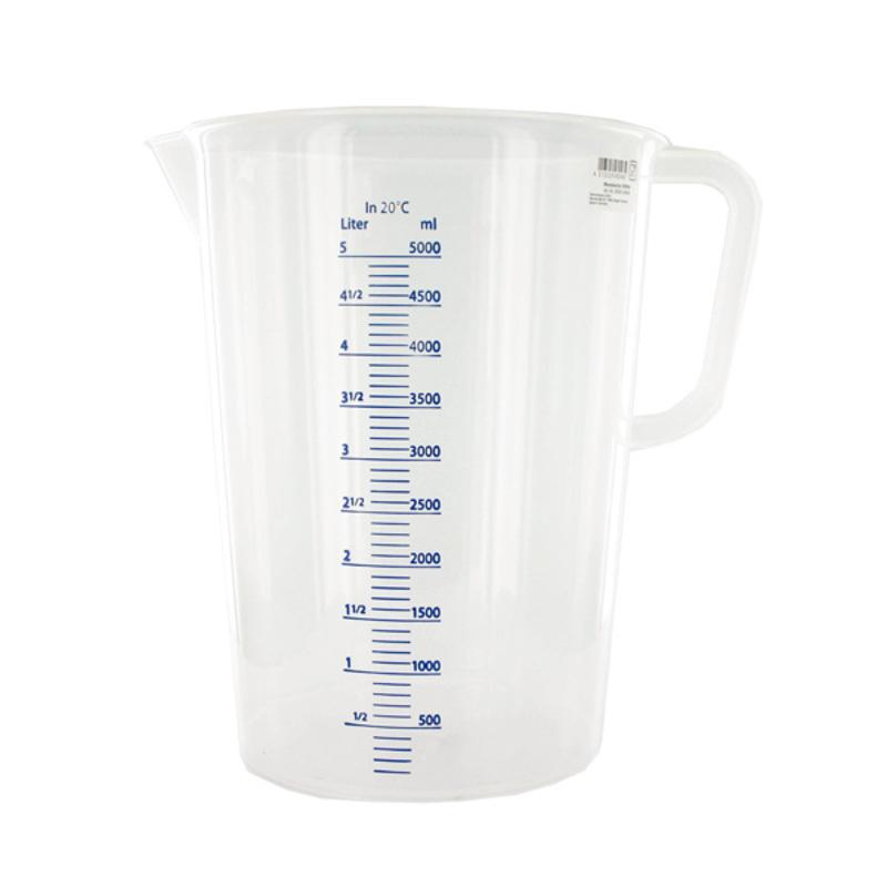 Pot mesureur gradué plastique 5 L