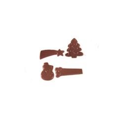 Moule chocolat 20 décors de Noël