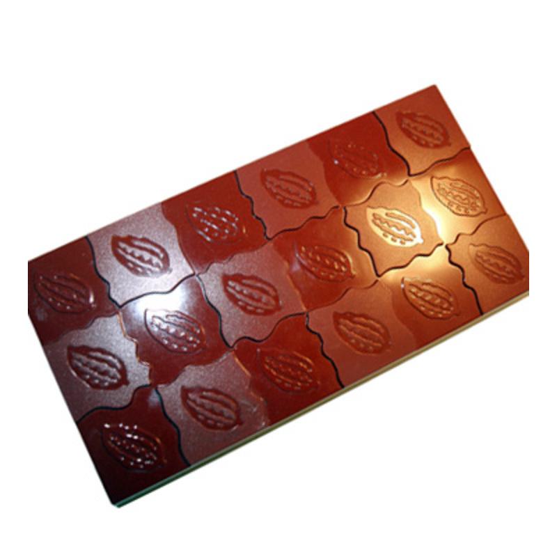 Moule plaque de chocolat cabosses