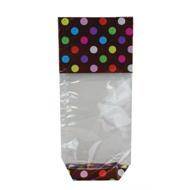 Sachets fond carton Gomettes Chocolat (x100)