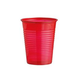 Gobelets plastique rouges (x50)