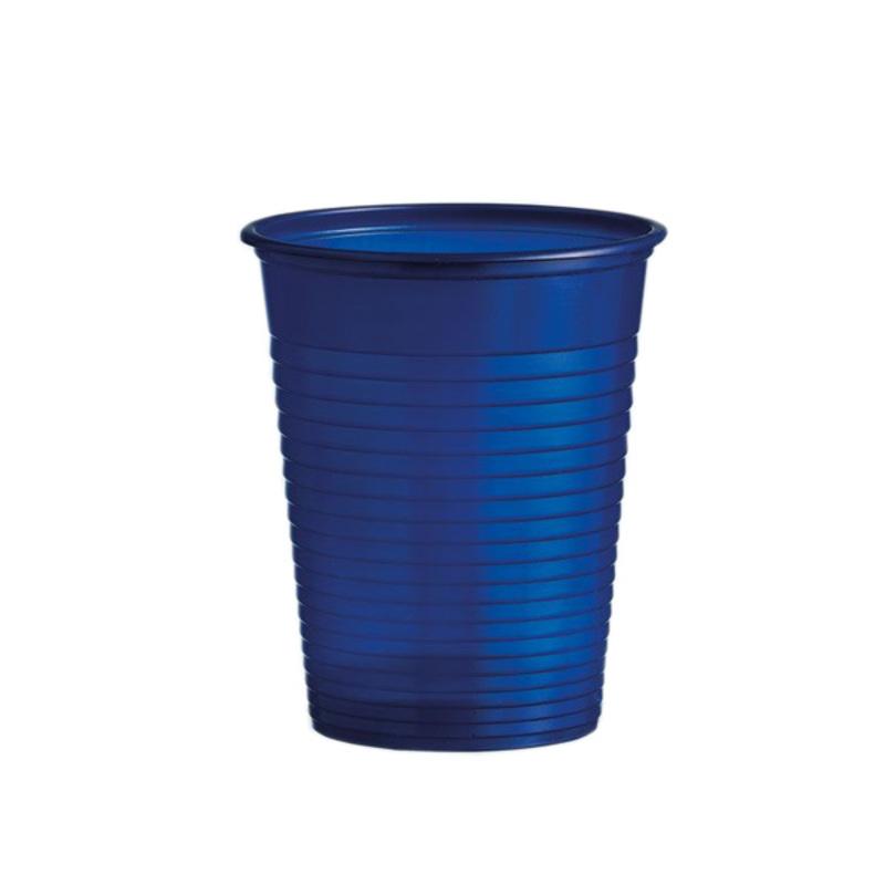 Gobelets plastique bleu marine (x50)