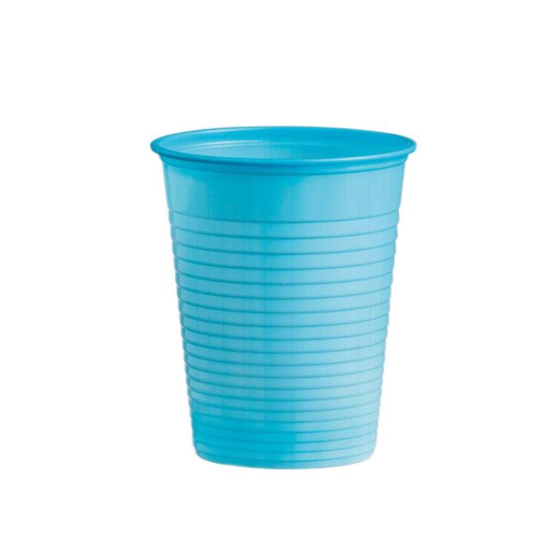 Gobelets plastique bleus (x50)