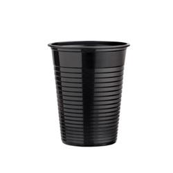 Gobelets plastique noirs (x50)