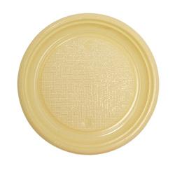 Assiettes plastique ivoire (x50)