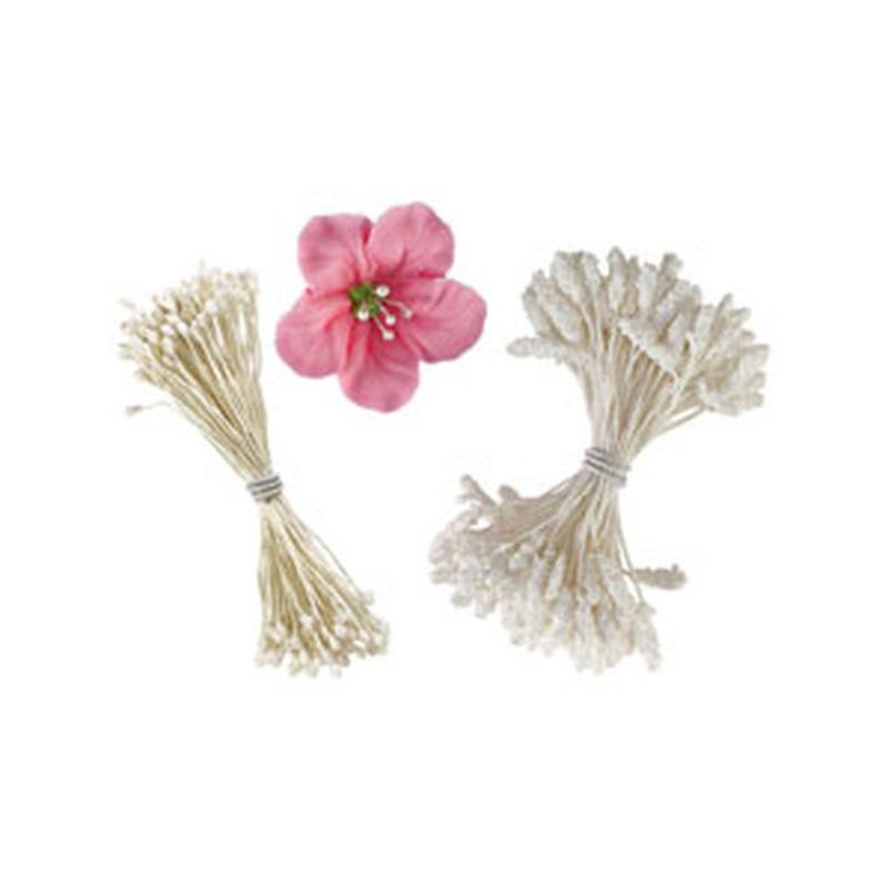 Etamines assorties pour fleurs Wilton (x180)