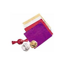 Papier emballage bonbon doré Wilton (x50)